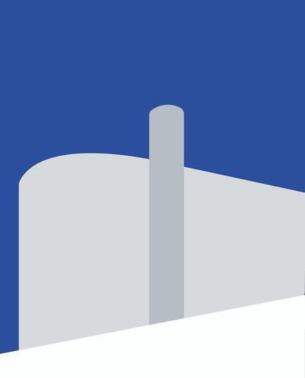 Buildings - Le Cor Digital Illustration Alessio Sanzeri