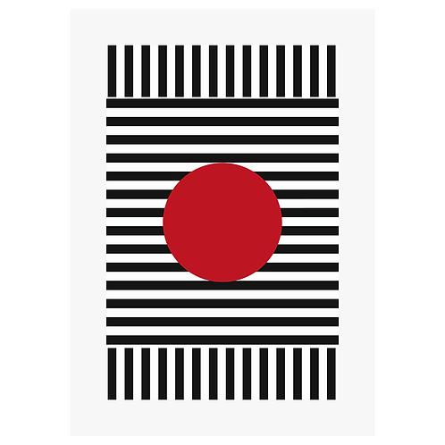 Red Dot - Digital Print