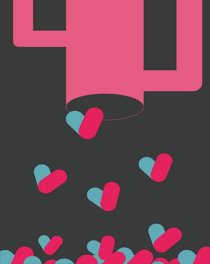 Feed Your Love Digital Illustration Alessio Sanzeri