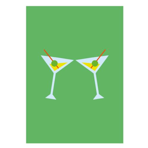Drink Green - Digital Print