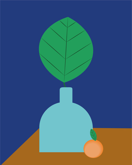 Green Digital Illustration Alessio Sanzeri