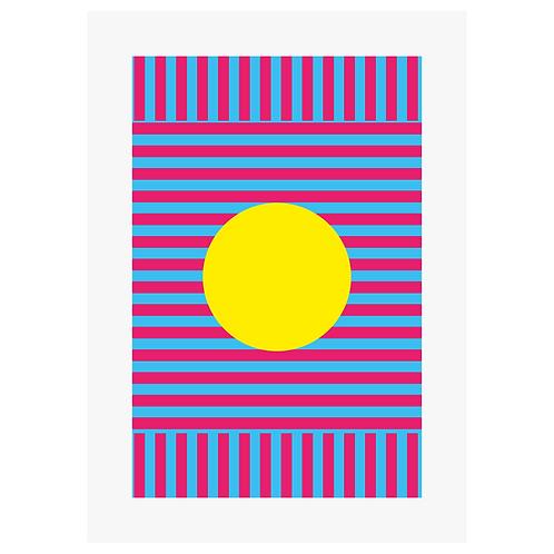 Sun - Digital Print
