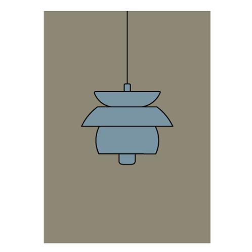 Scandinavian Lamps Pack- Digital Print
