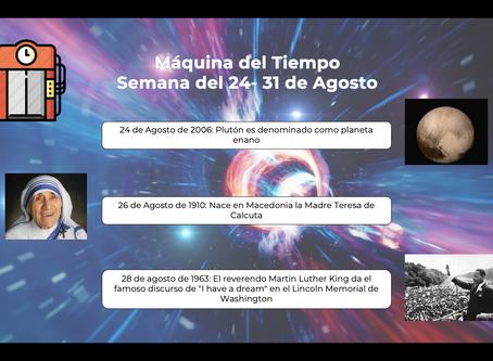 Máquina del tiempo : Plutón es denominado como planeta enano