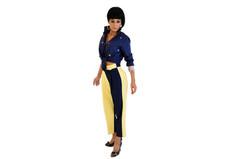 Tango Trousers Tangolon Womens Yellow & B