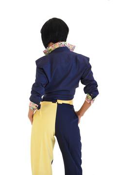 Tangolon Ladies Pants Yellov & Blue Speci