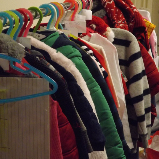 Jackets for sale.