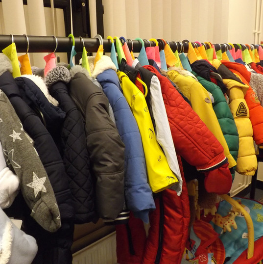 Boys jackets.
