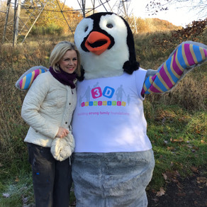 STV's Kelly-Ann Woodland visits us at the forest.