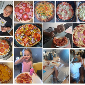300 Pizza kit deliveries during Easter Holidays!