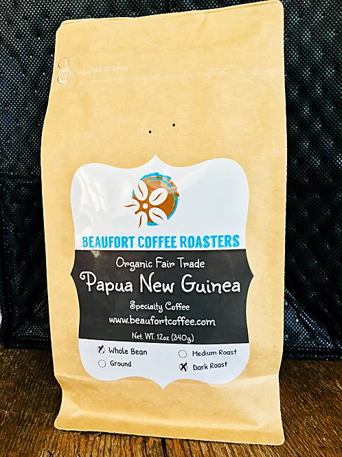 Papua New Guinea Coffee, Organic Fair Trade