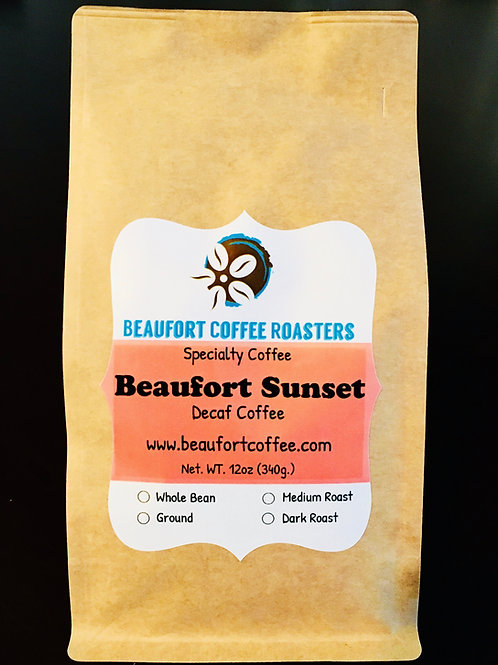 Beaufort Sunset - Decaf Coffee