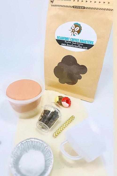Coffee Sample with Coffee Play Dough Kit