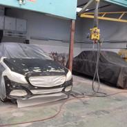 Pintura Mercedes Benz