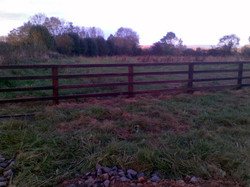 Creosote P+R fence 2