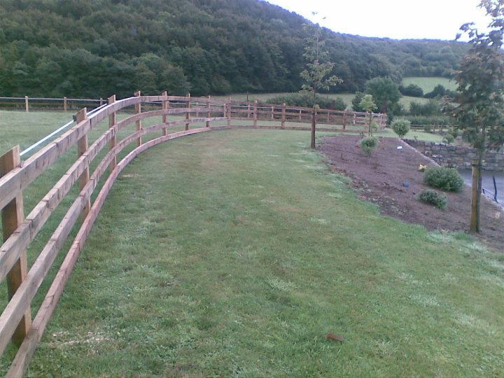 4 Bar Post and Rail - Tanalised