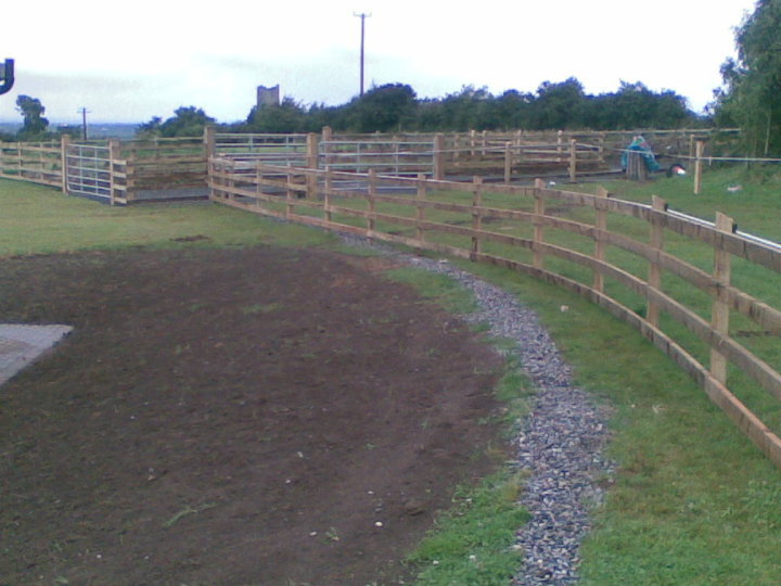 4 Bar P+R with Galvanised Gates