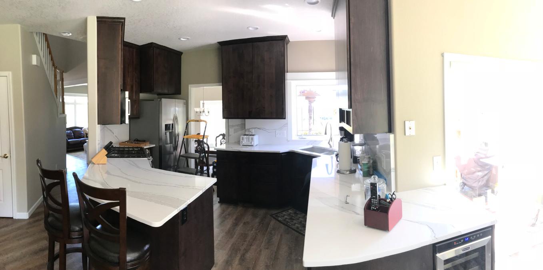 Panoramic of Espresso kitchen
