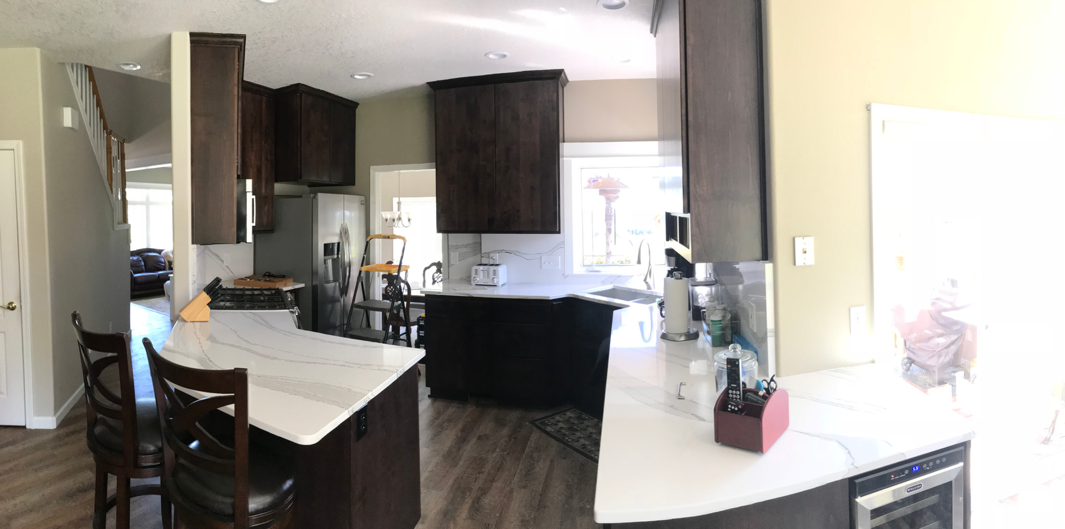 Panoramic of Espresso kitchen