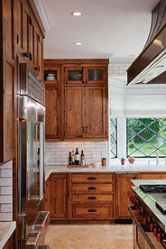 Rustic Kitchen with Chestnut Cabinets.jp