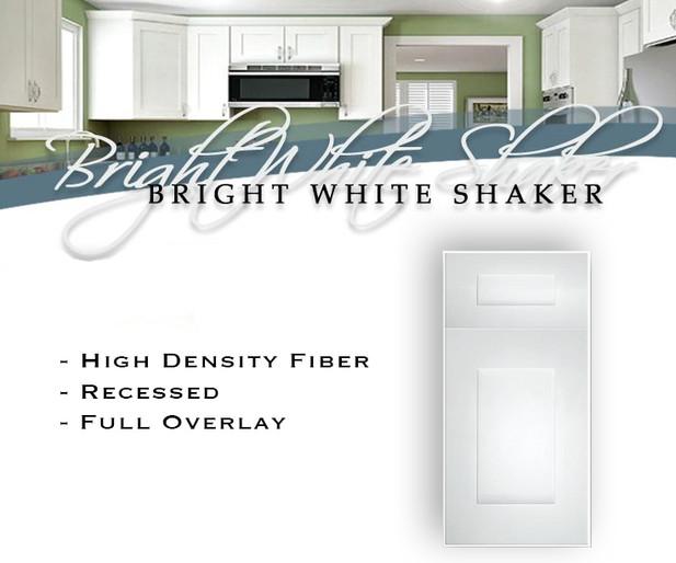 Bright White Shaker