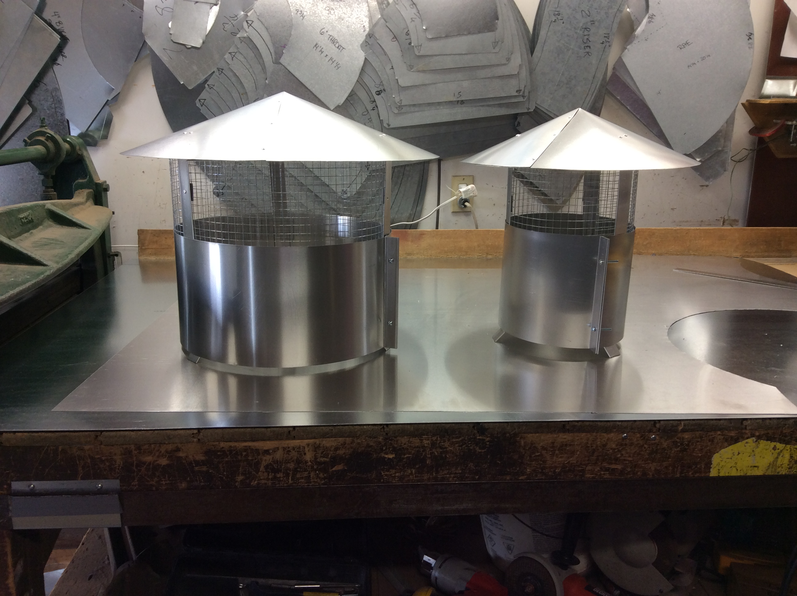 Aluminum Tops
