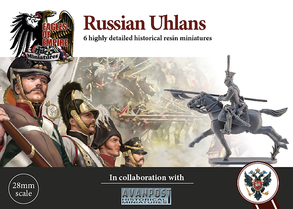 Uhlans - attacking with sabers drawn