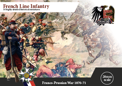 French Line Infantry   Box of 2 squads
