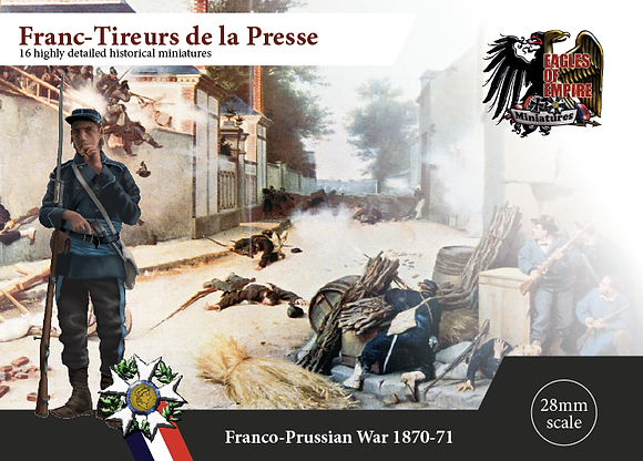Francs-Tireurs light inf.   Box of 2 squads