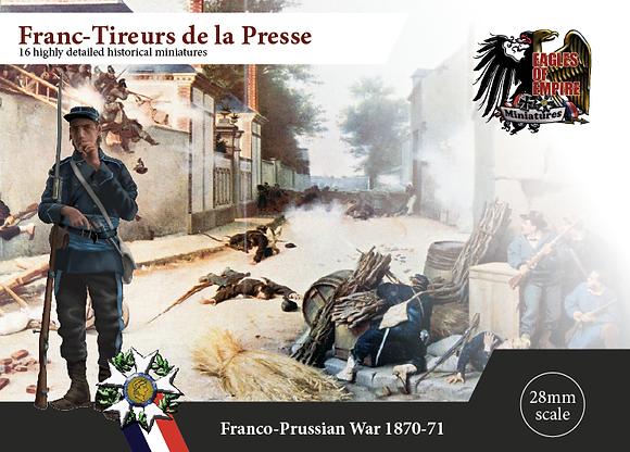 Francs-Tireurs light inf.   Box of 2 squads