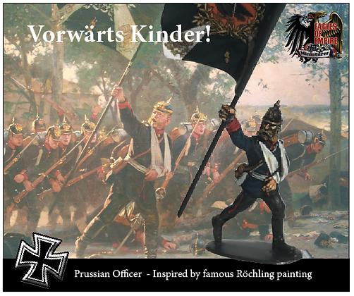 The death of Mayor von Halden (2 miniatures incl.)