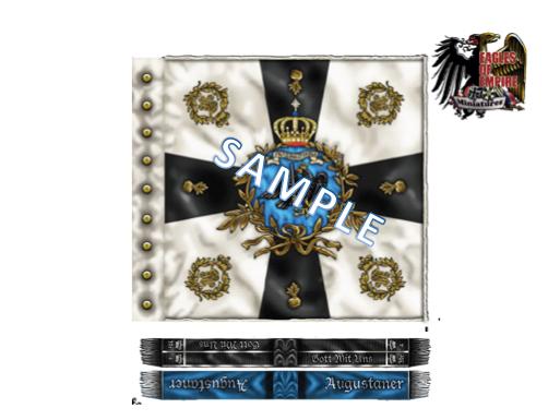 Royal Prussian Flag - 4th Garde Grenadier Reg.