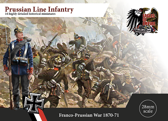 Prussian Infantry - Box of 2 squads