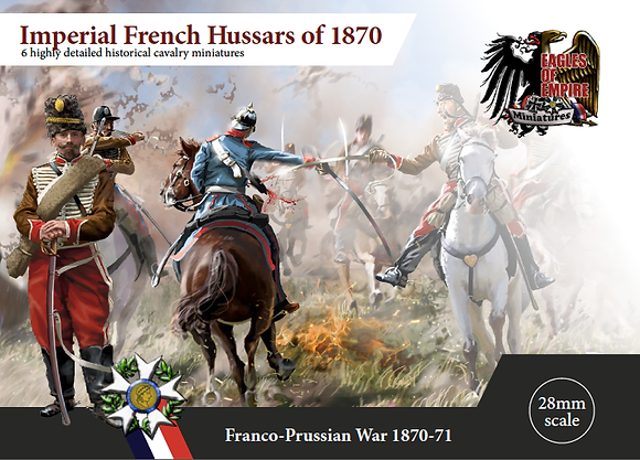 Imperial French Hussars of 1870