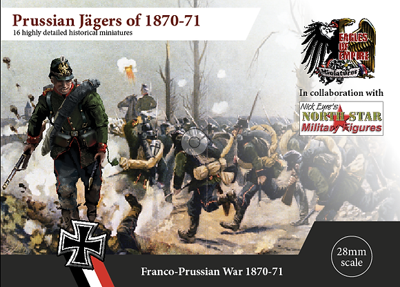 Prussian Jägers - Box of 2 squads