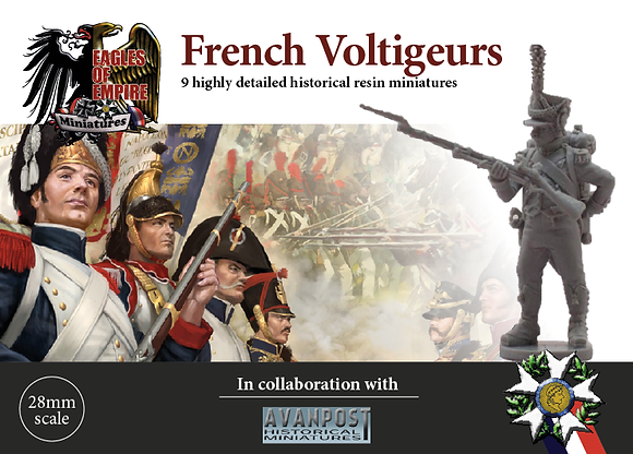 French Voltigeurs skirmishing