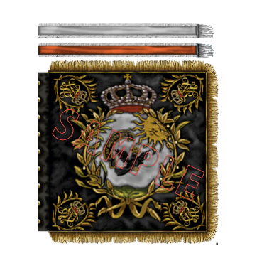 Prussian Cuirassiers flag - 7th Magdeburg