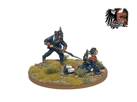 Prussian Bayonet Characters + 14 Bayonets