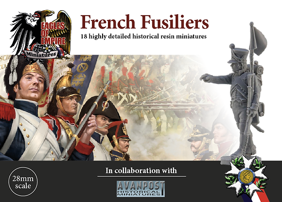 French Fusiliers advancing