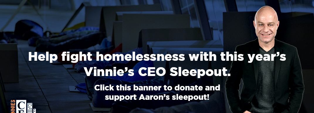 Vinnie's CEO Sleepout