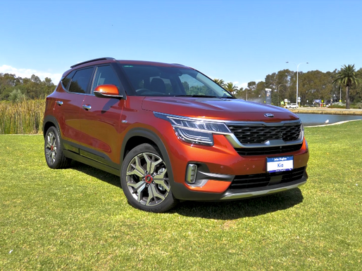 Take the new Kia Seltos for a Zoom Test Drive