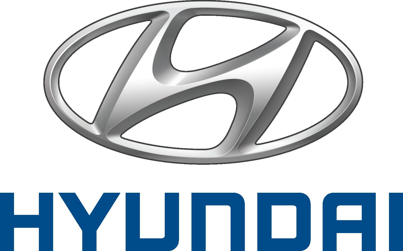 Hyundai stand alone logo