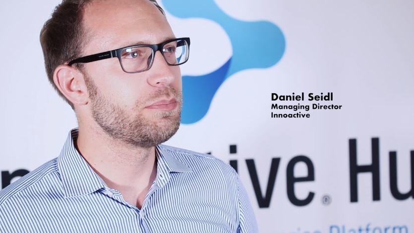 Innoactive CEO Daniel Seidl