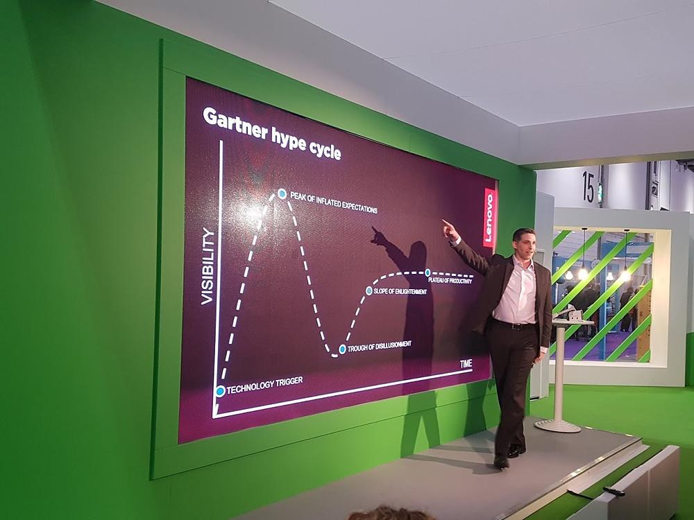 Lenovo's Rich Henderson talks about Gartner's Hype Cycle