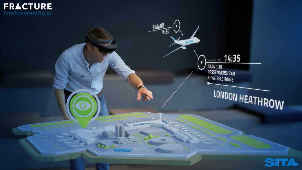 Fracture Reality showcases a future air traffic control concept with SITA