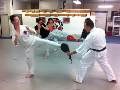 New Cardio Kickboxing Class!