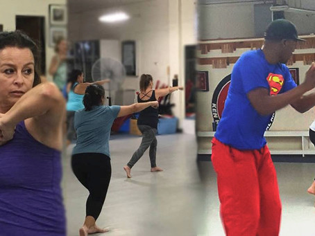Free Cardio Kickboxing and Zumba