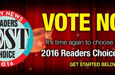 Vote For Us Today!