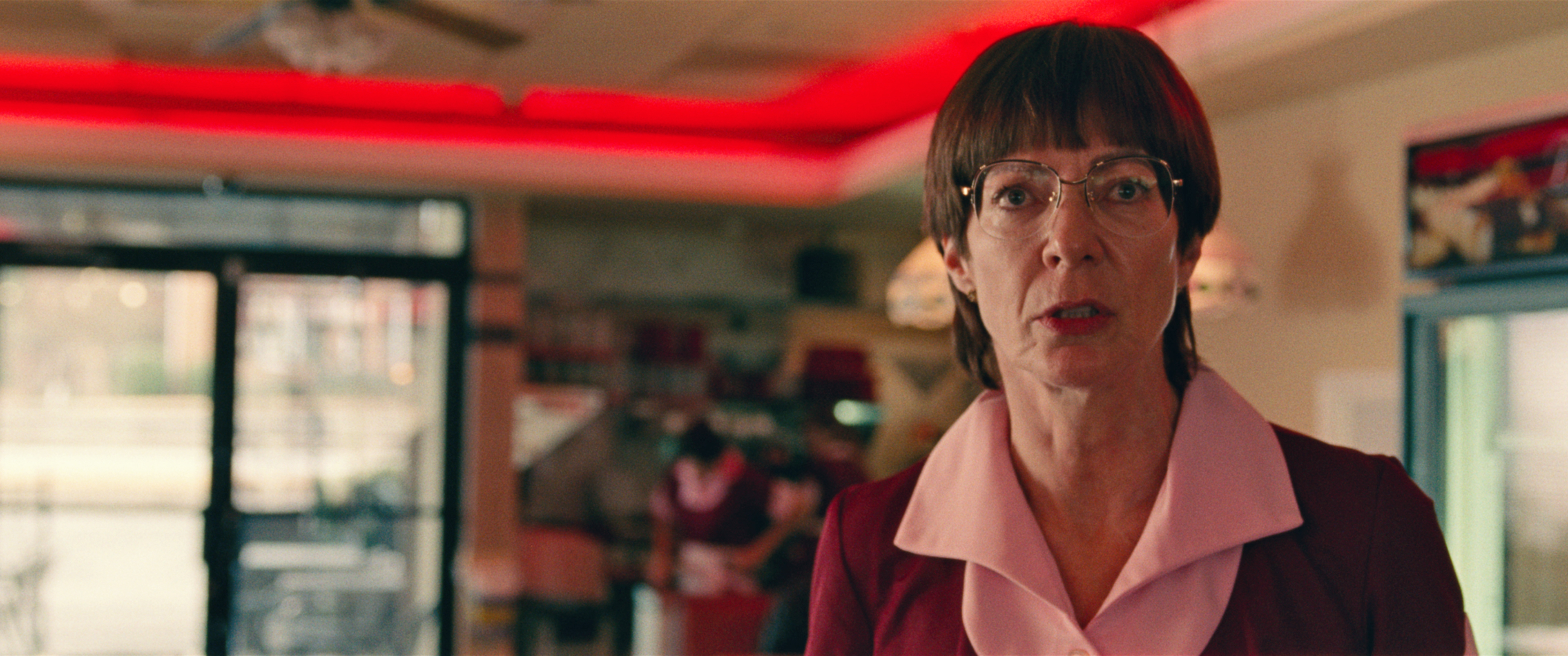 7-LaVona Golden (Allison Janney) at work in I, TONYA, courtesy of NEON