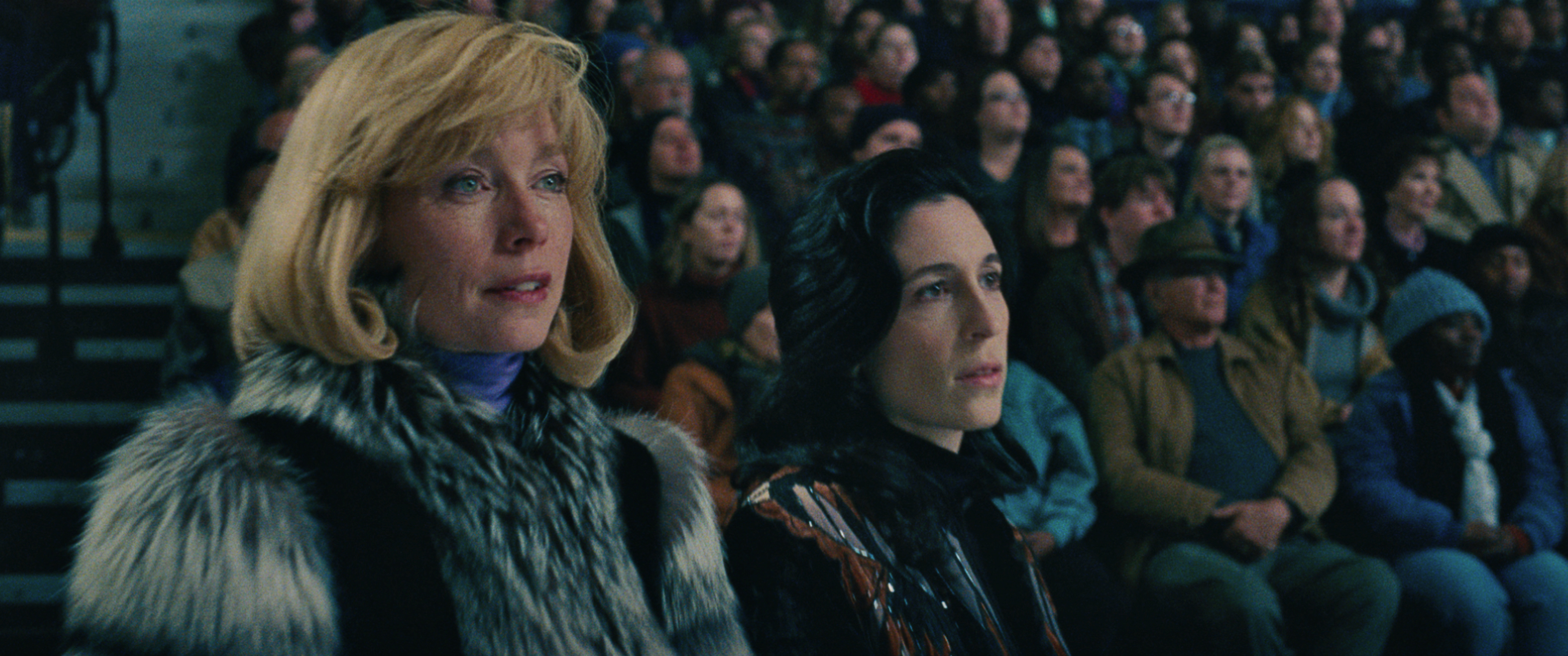 4-Coach Diane Rawlinson (Julianne Nicholson) watches the ice in I, TONYA, courtesy of NEON